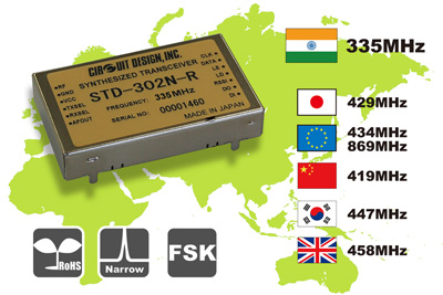 Circuit Design Low Noise Industrial Transceiver for India