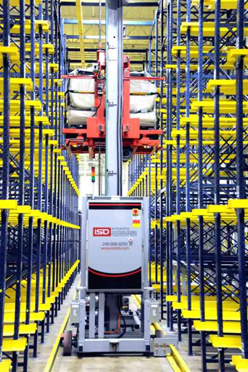 Asrs Ultrastore Integrated Systems Design World Industrial Reporter