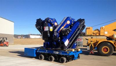 PSC SPMT 600 Heavy Duty Lift Trailer
