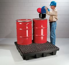 PIG® Poly Spill Containment Pallet