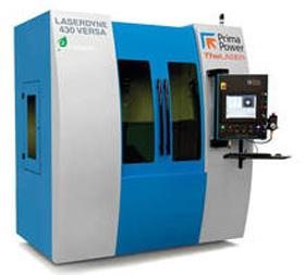 3D Fiber Laser Processing System LASERDYNE 430 Versa