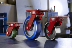 Heavy Duty Maintenance Free Casters Spinfinity