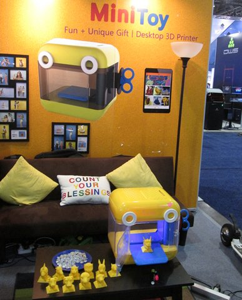 3D Printed Toy CES 2016