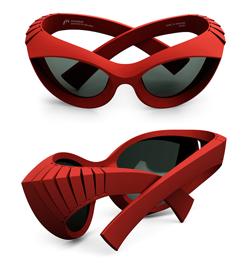 3D printed eyeglasses