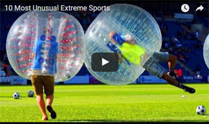 unusual extreme sports