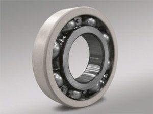 Ceramic coated bearings for inverter motors new product for Ceramic bearings for electric motors