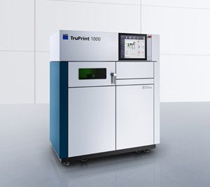 Trumpf 3D Metal Printer TruPrint 1000