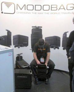 CES 2017 Modobag Ridable Luggage