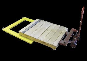 Fairbanks U-Shaped Floor Scale Yellow Jacket