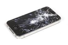 Cracked Smartphone Screens
