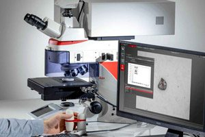Leica Microsystems Materials Analysis Microscope DM6 M LIBS