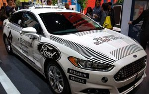 Ford at CES 2018