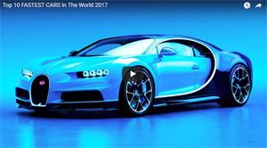 10 fastest cars 2017