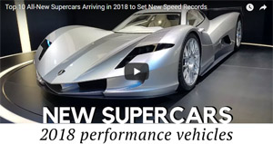 top supercars 2018