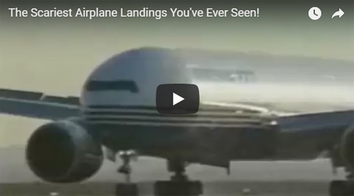 Scary Airplane Landings