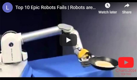Epic Robot Fails