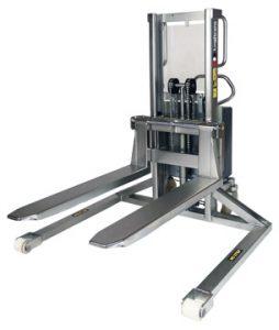 Logitrans Stainless Steel Straddle Stacker