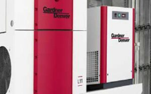 Gardner Denver Variable Speed Rotary Screw Compressors LRS Series