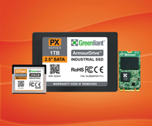 Greenliant Industrial SSD Modules ArmourDrive™ PX Series