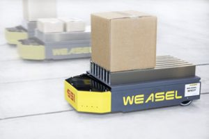 SSI SCHAEFER Automated Guided Transport System WEASEL®