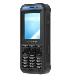 ecom Hazardous Area Mobile Phone Ex-Handy 10