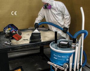 EXAIR HEPA Drum Vacuum Cleaner HEPA Vac