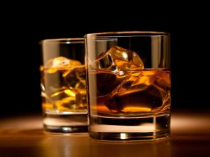 whisky drink glasses table blocks next 1168x875