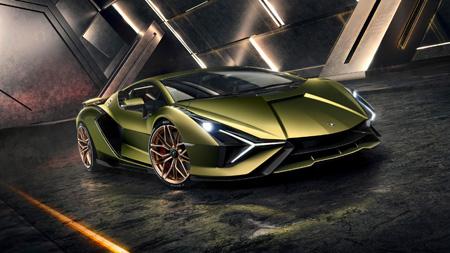 Lamborghini Sian Supercar