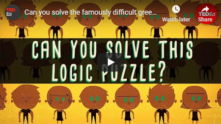 Green Eyed Logic Puzzle