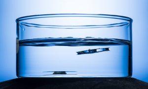 fea superhydrophobic metal unsinkable