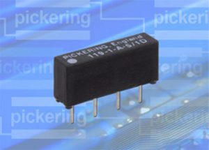 Pickering miniature SIL/SIP reed relay Series 109