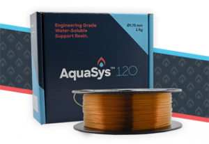 infinite material solutions water soluble 3d printing support filament AquaSys 120