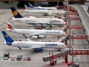 model planes airplanes miniatur wunderland hamburg 163792