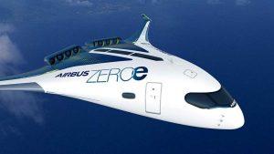 AirbusZEROe blendedwingbody concept 1